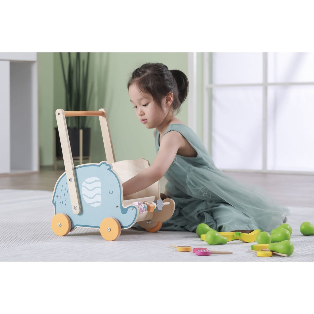 PolarB Wooden Elephant Walker / Buggy 3