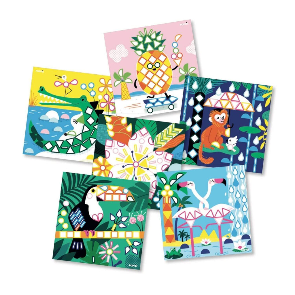 Poppik My Sticker Cards - Tropical 3