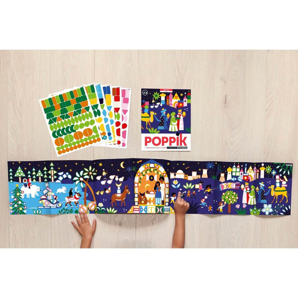 Poppik My Sticker Mosaic - Christmas 2