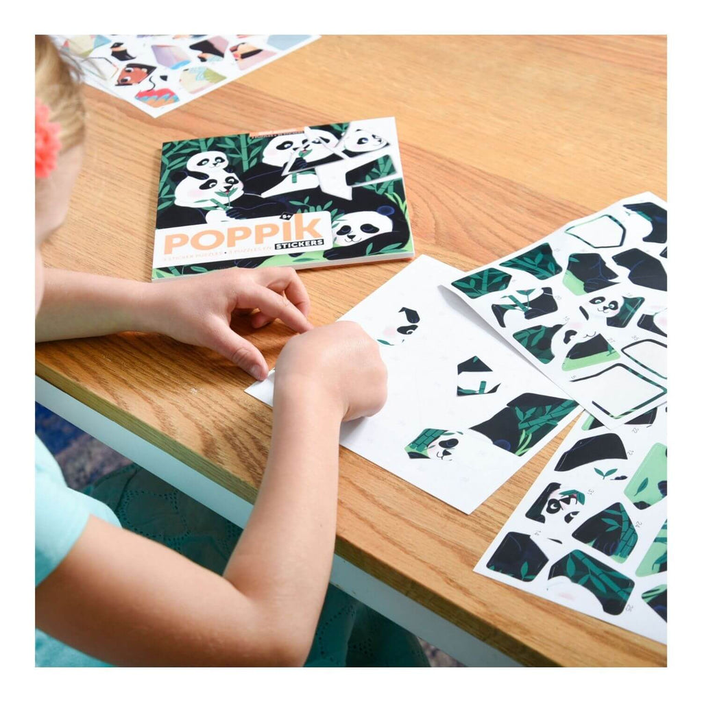 Poppik My Sticker Puzzle - Wild Animals 2