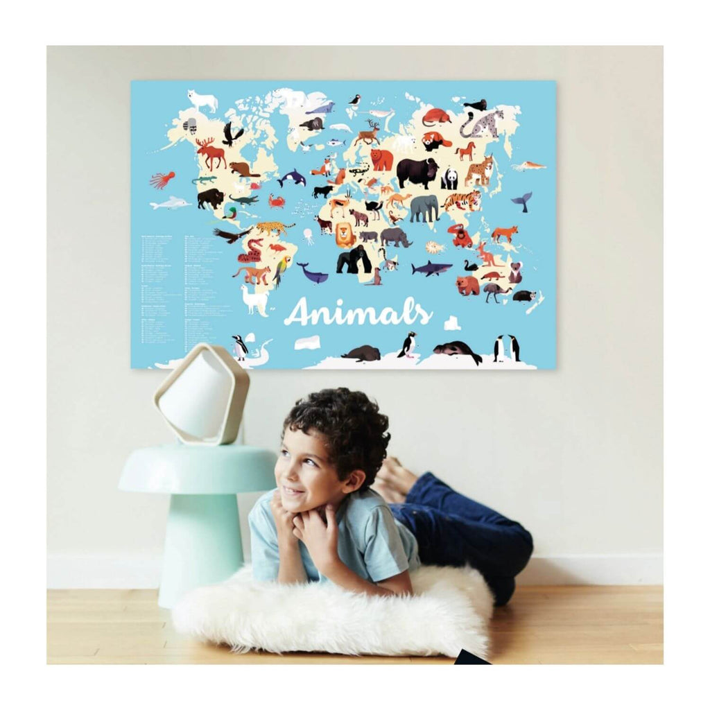 Poppik Sticker Poster Discovery - Animals of the World 6