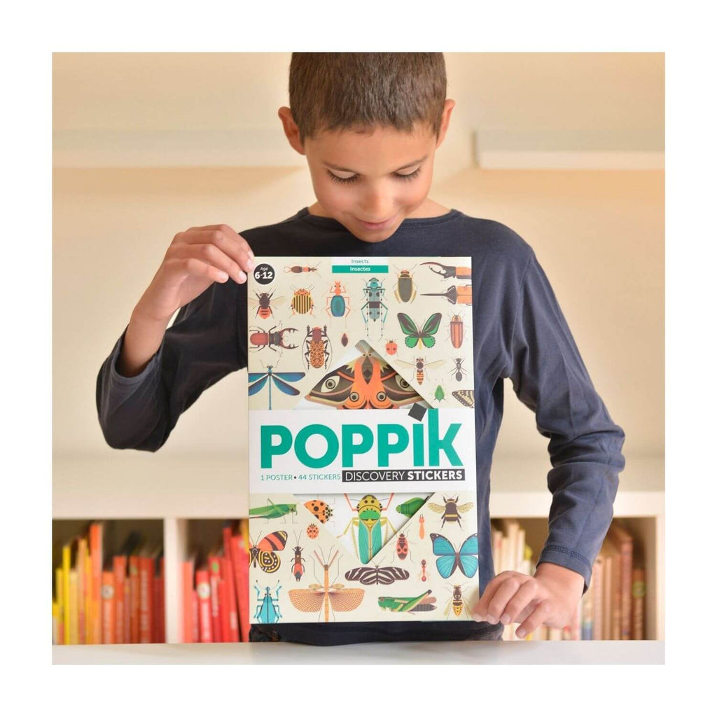 Poppik Sticker Poster Discovery - Insects 2