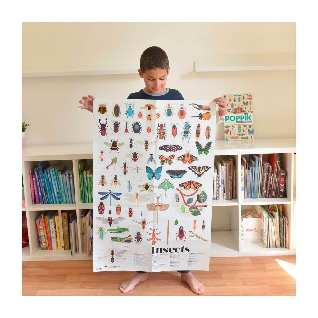 Poppik Sticker Poster Discovery - Insects 4