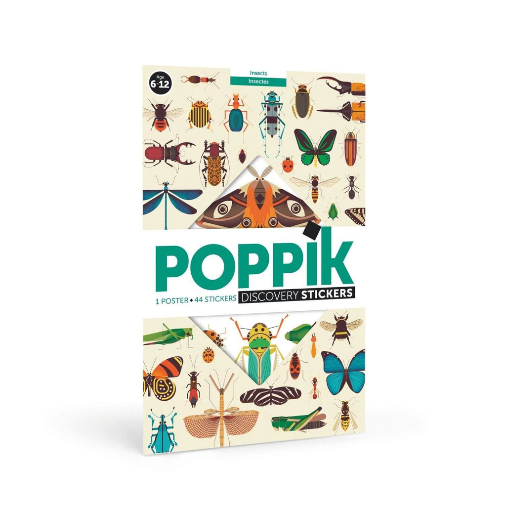 Poppik Sticker Poster Discovery - Insects 8