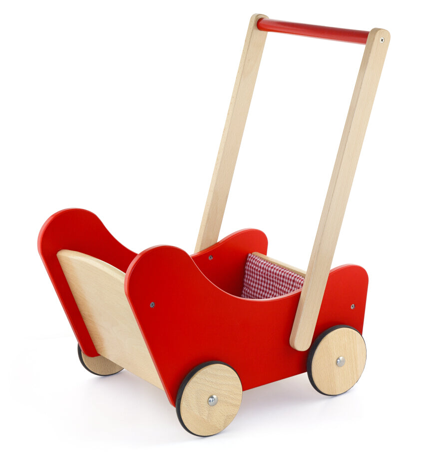 Viga Red Doll Pram