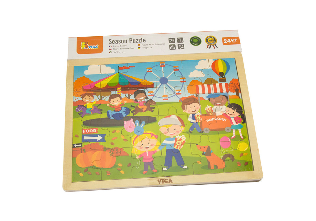 Viga Seasonal Puzzle - Autumn