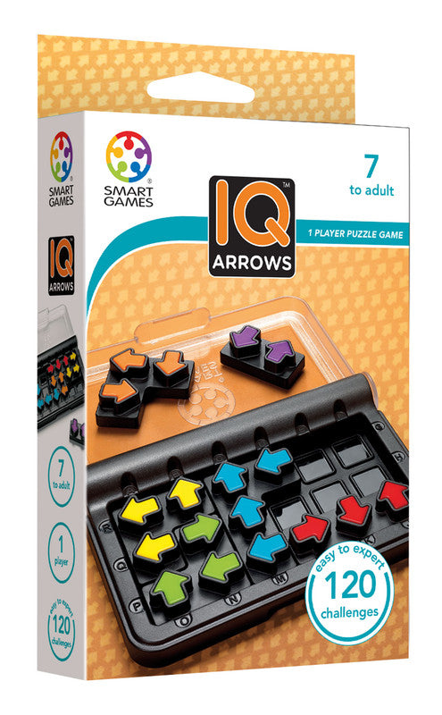 Smart Games IQ Arrows Pocket Board Game