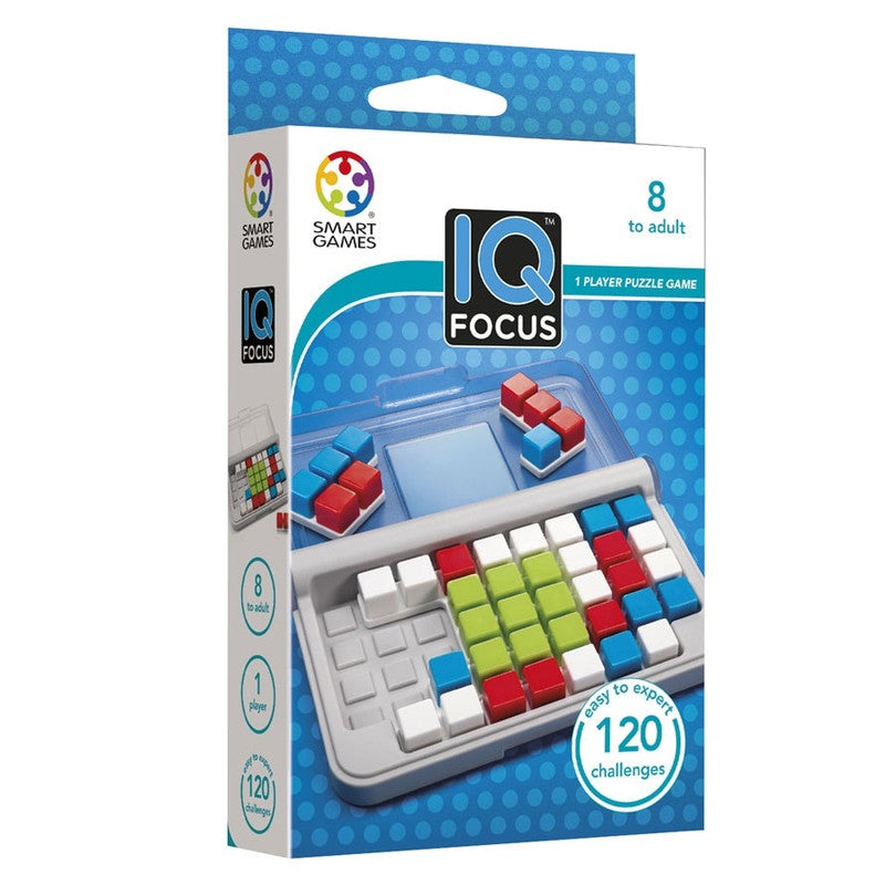 Smart Games IQ Focus Pocket Board Game