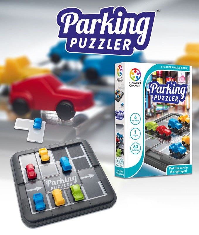 Smart Games Parking Puzzler Board Game