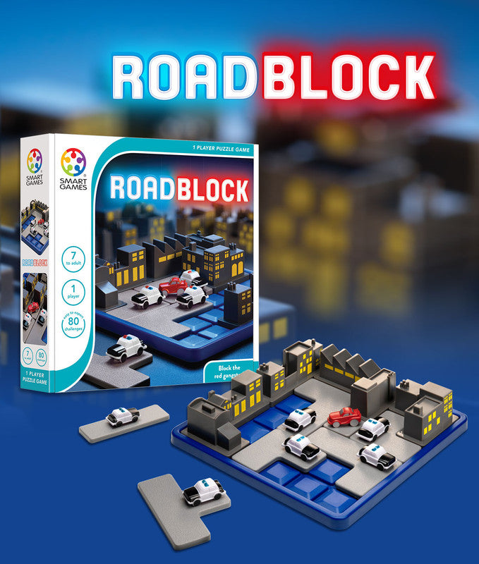 Smart Games Roadblock Board Game