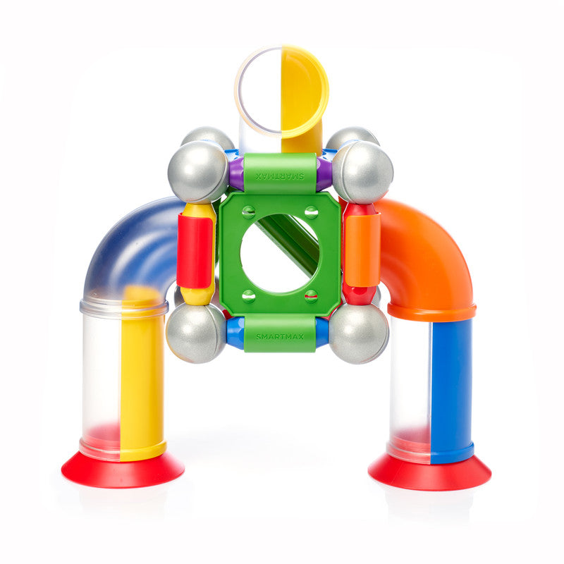 Smartmax Click & Roll By Smartmax - A Magnetic Discovery Building Set Featuring Safe, Extra-Strong, Oversized Building Pieces for Ages 1+