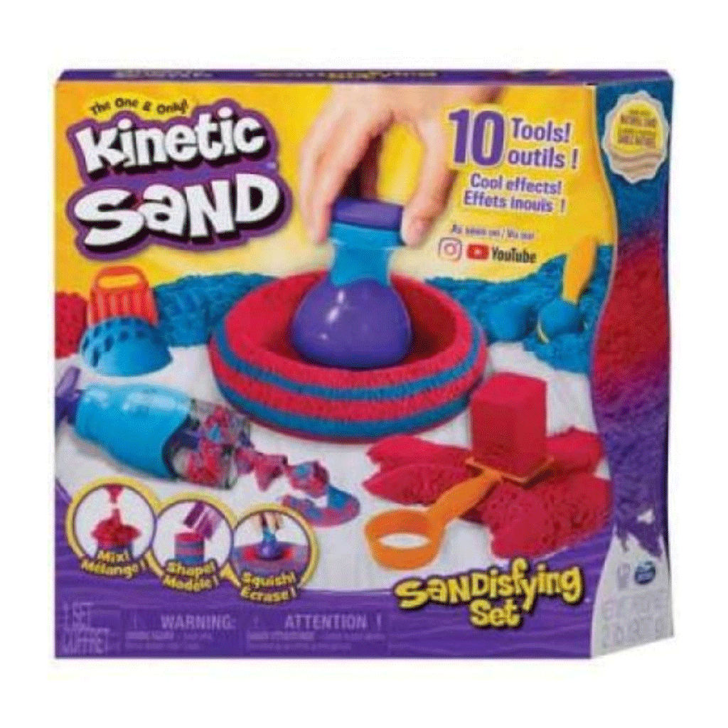 Kinetic Sand Sandisfying Set (2lbs)
