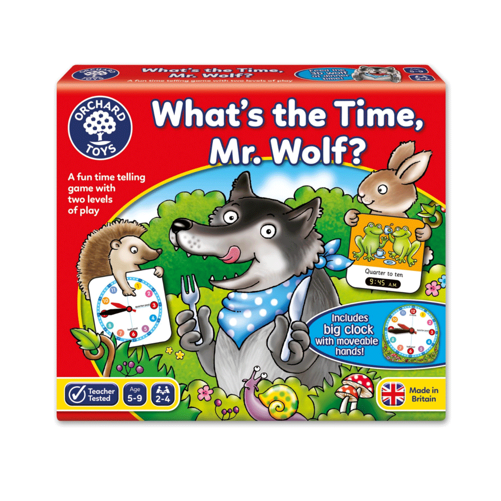 Orchard Toys What's The Time Mr. Wolf