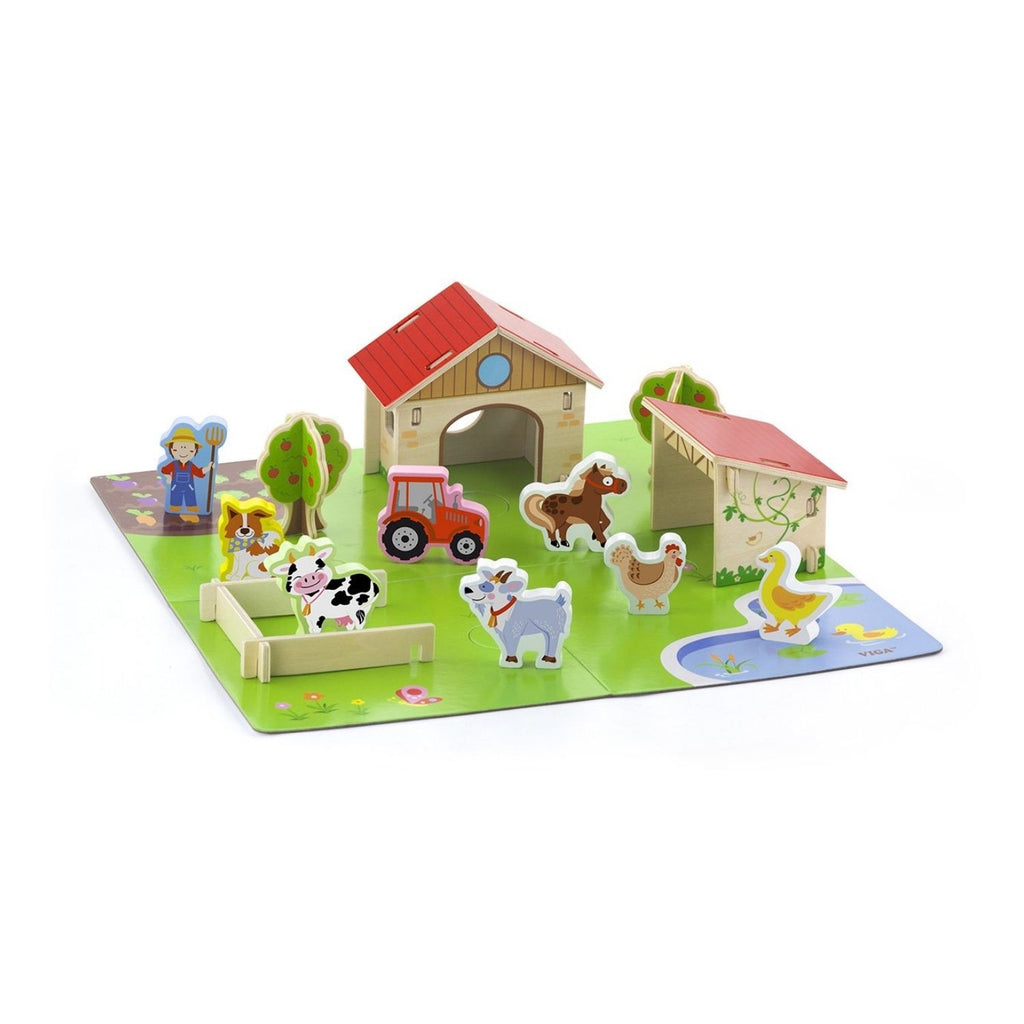 Viga 3D Wooden Farm