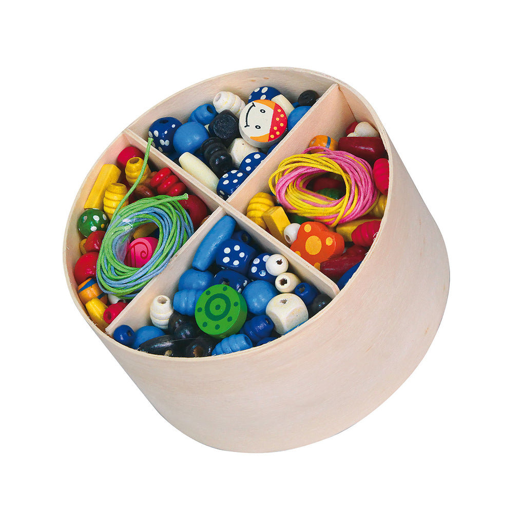 Viga Wooden Beads - Make Your Own Jewelry