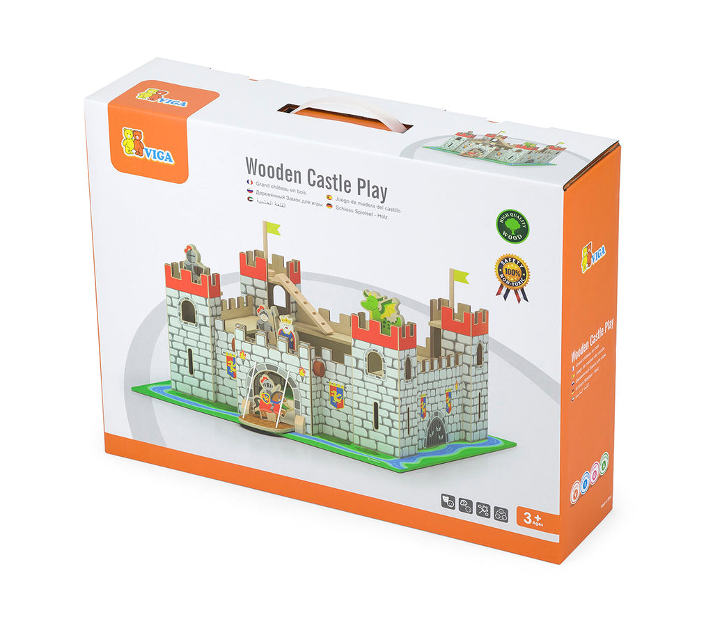 Viga Wooden Castle Play