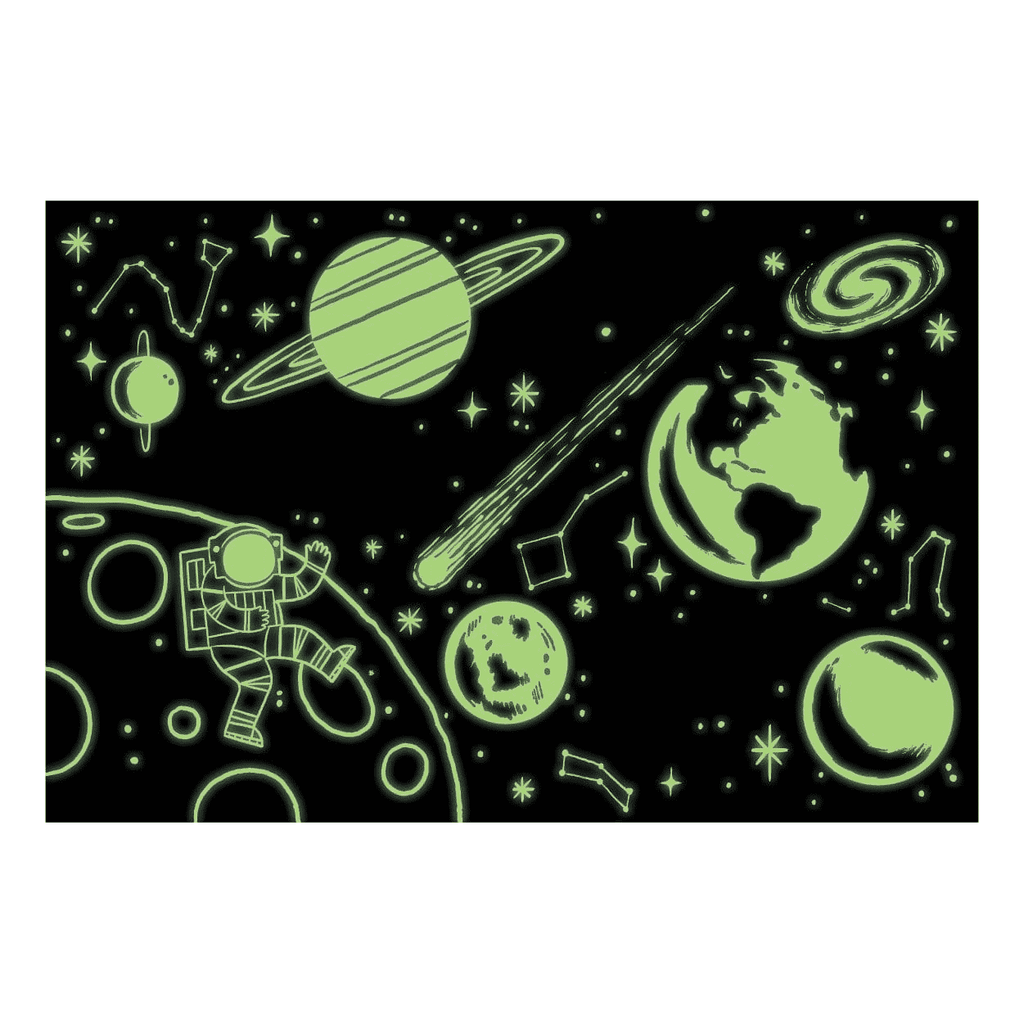 Mudpuppy Glow in the Dark Puzzle - Outer Space