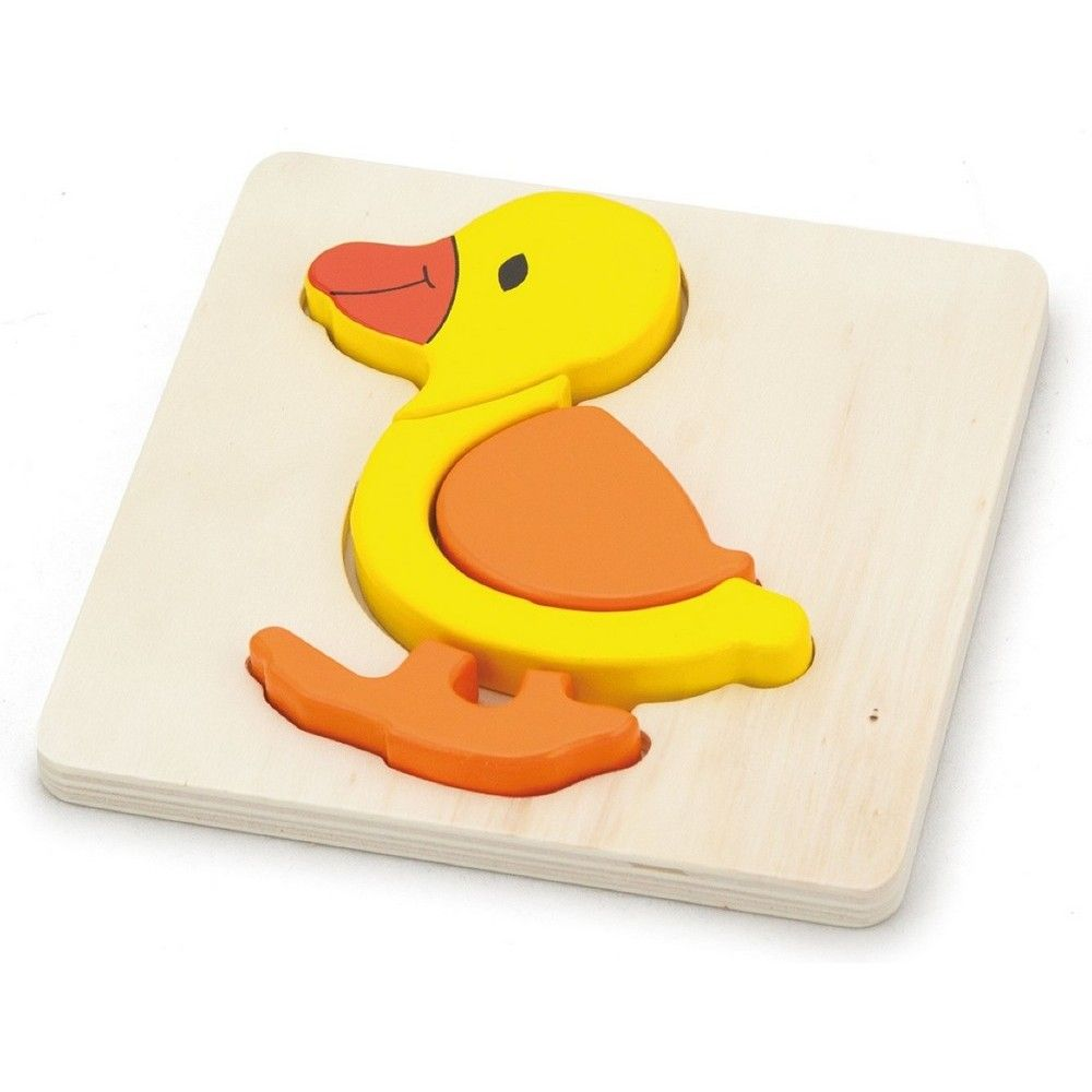 Viga Shape Block Puzzle - Duck