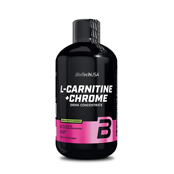 L-Carnitine + Chrome - 500 ml