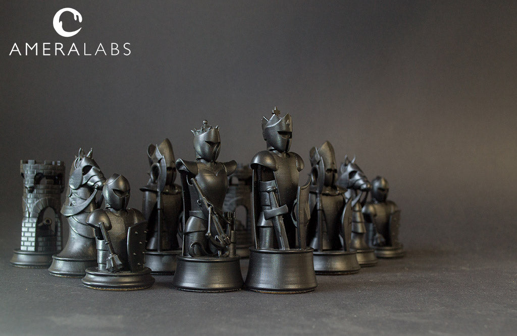 AMD-3 LED FAST curing 3D resin for Miniatures | AmeraLabs