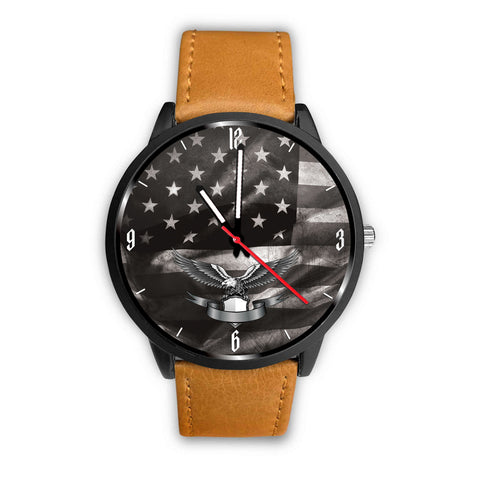 US Flag Custom Watch with Eagle