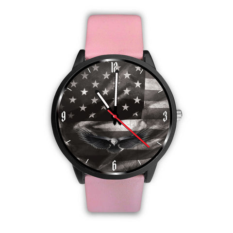 US Flag Custom Watch - Eagle