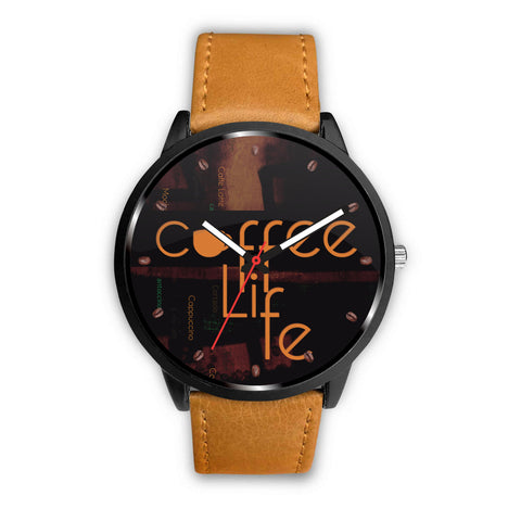 For you Coffee Lovers- Custom Coffee Watch