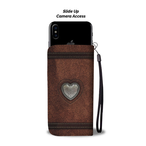Beatiful Horse Custom Phone Wallet