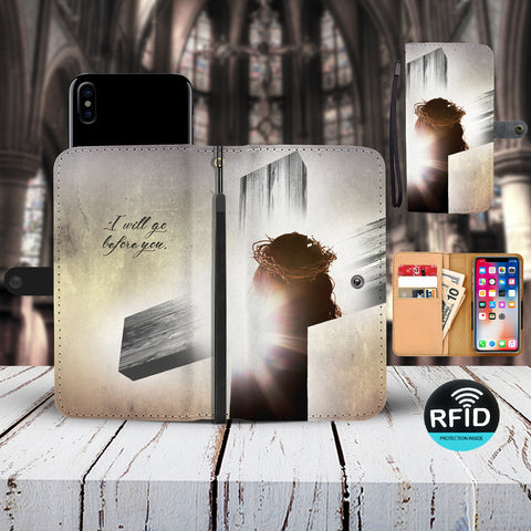Stunning Jesus Custom Phone Wallet - You wont find this anywhere!