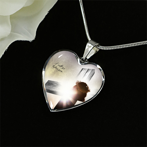 Stunning I will go before you Pendant