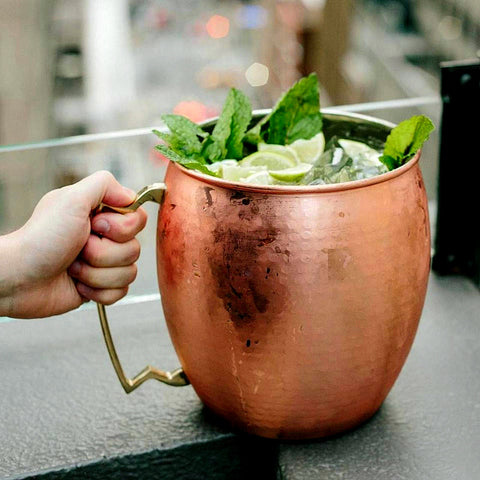 Giant 5l hammered mug