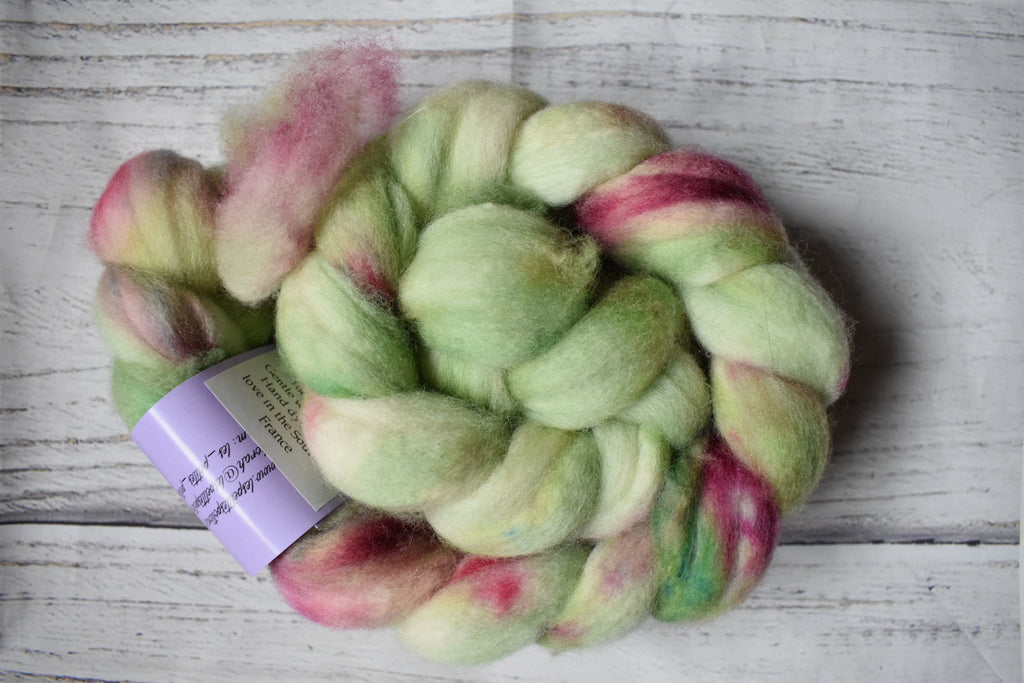 SW Merino April Club Matcha Rose Cake