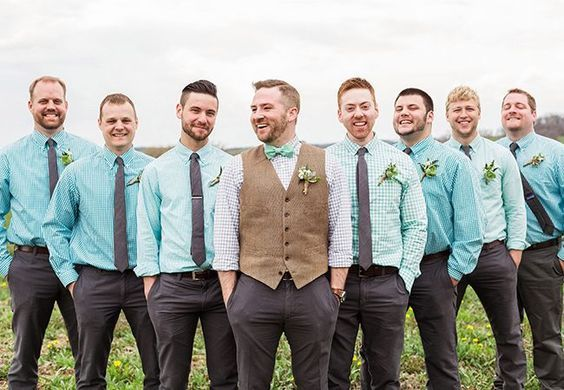 Top 3  Rustic Wedding Suits and Vests Trends
