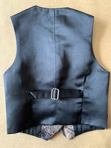 Airtailors Page Boy Camouflage Cute Vest for Rustic Wedding Color Brown(Vest+tie)