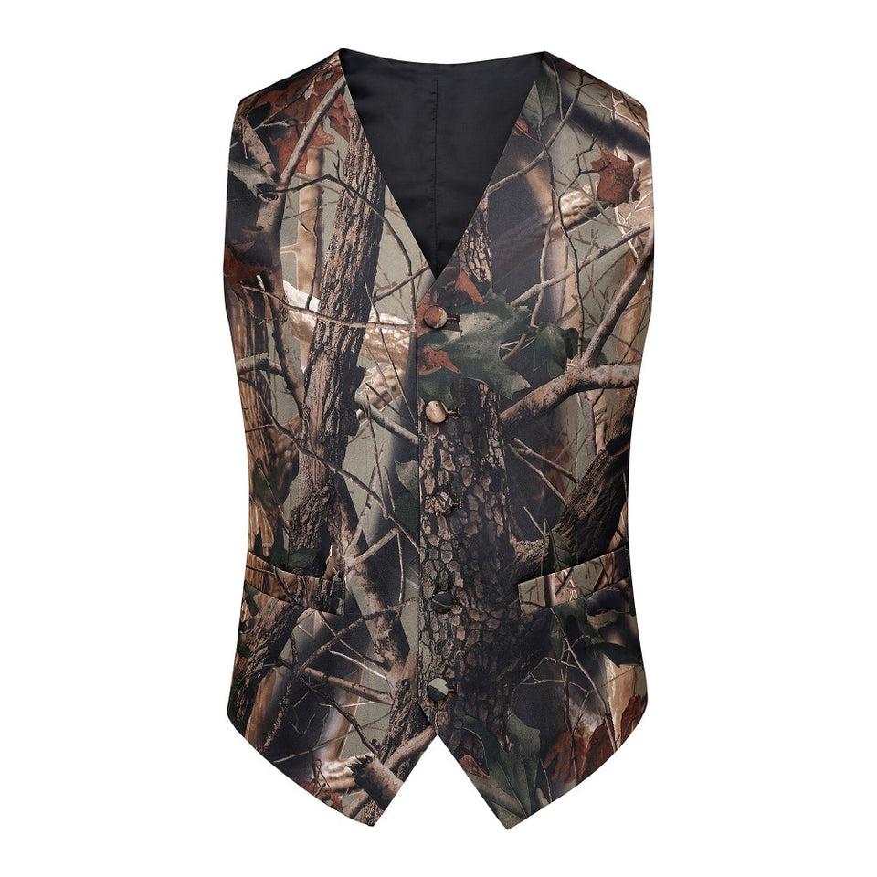 Realtree Camouflage Vest Front