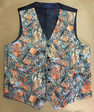 Orange Camo Realtree Camo Vest Front