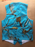 AIRTAILORS™ ROYAL BLUE REALTREE CAMOUFLAGE VEST