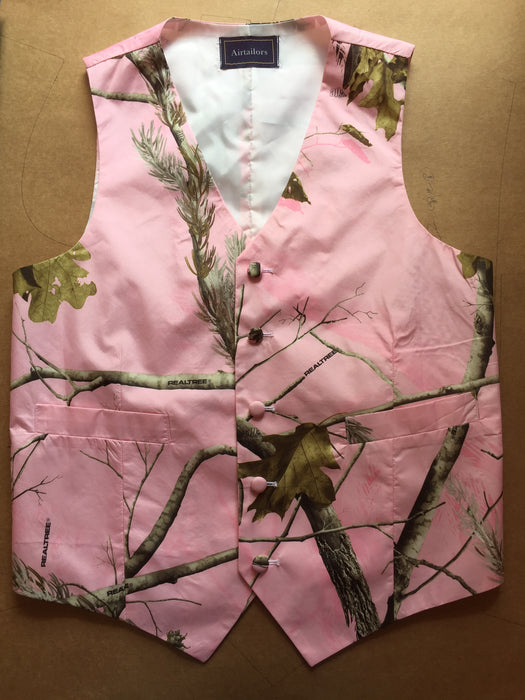 Pink Realtree Camouflage Vest