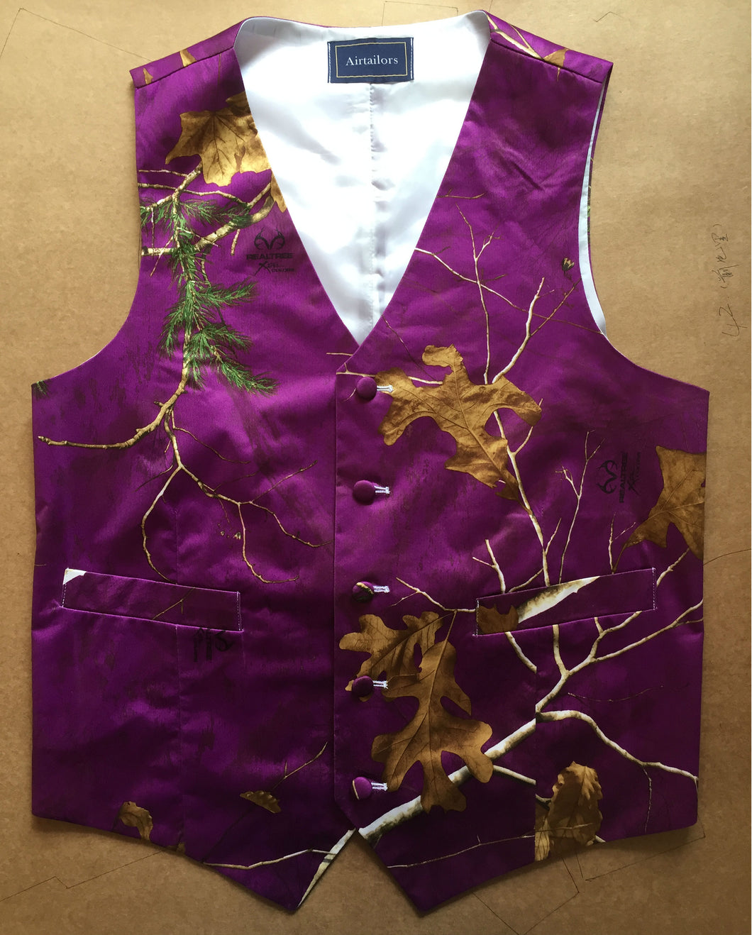 Purple Realtree Camouflage Vest