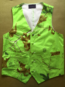 Green Realtree Camouflage Vest