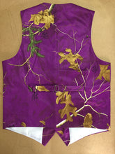 Airtailors Designed Purple Realtree Camouflage Vest for Rustic Wedding Fashion Dress Vests Plus Size
