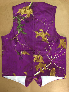 AIRTAILORS™  PURPLE REALTREE CAMOUFLAGE VEST