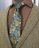 AIRTAILORS™ PAISTLEY PATTERN NECKTIE