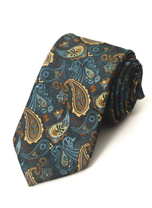 Airtailors Fashion Paisley Pattern Long Tie  For Party and Formal Events