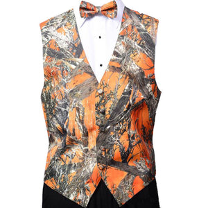 AIRTAILORS™ ORANGE REALTREE CAMOUFLAGE VEST