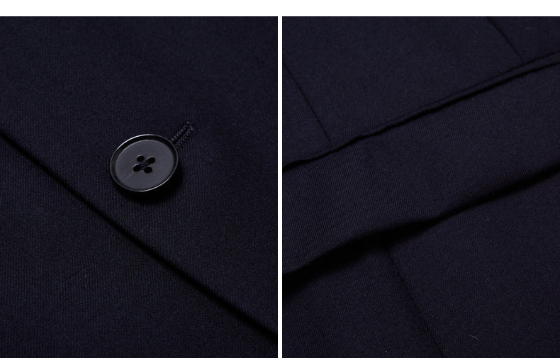 AIRTAILORS™ BLACK BUSINESS SUITS - Airtailors