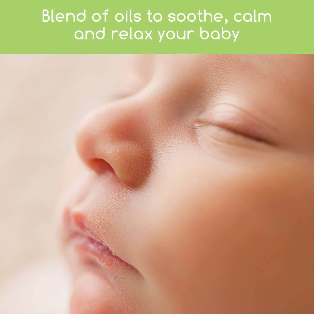Calms and soothes teething baby