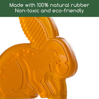 Boo the Bunny Rubber Teething Toy