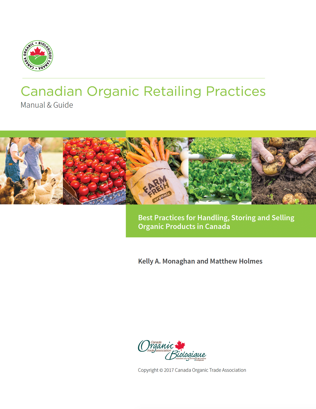 Canadian Organic Retailing Practices Manual & Guide