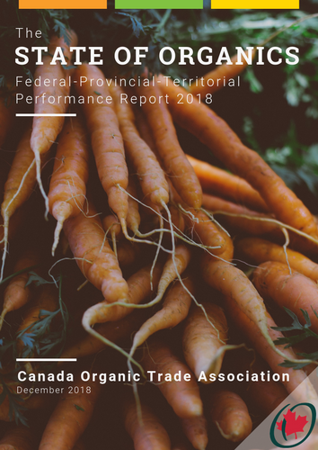 The State of Organics: Federal-Provincial-Territorial Performance Report 2018